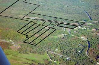 Adirondack Airpark Estates with 12 lots subdivided with underground utilities in place and home of the Silohome Atlas F Missile Base Survival Complex