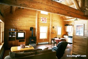 NY Cabin Rental, Adirondack Log Home For Rent at Adirondack Airpark Estates 800-715-1333 x 3144